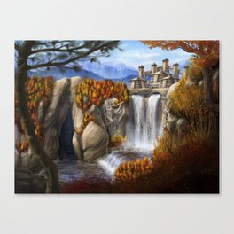 Autumn Valley Canvas Print