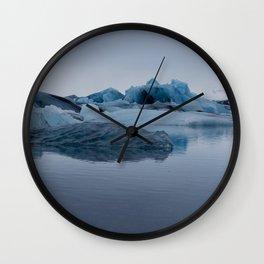 Glaciers Wall Clock