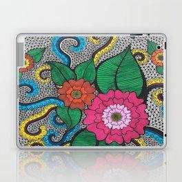 Octopus Flower (Color) Laptop & iPad Skin