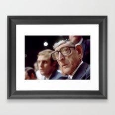 Coach Wooden Framed Art Print