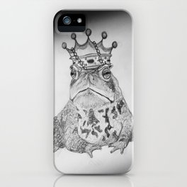 King Toad iPhone Case