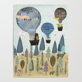 a little woodland adventure Poster