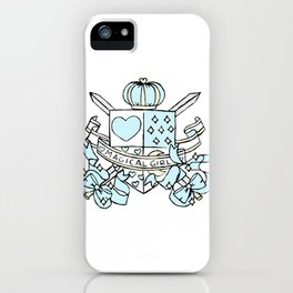 The Magical Girl's Coat of Arms iPhone Case