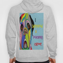 I Survived a Teaching Career Hoody