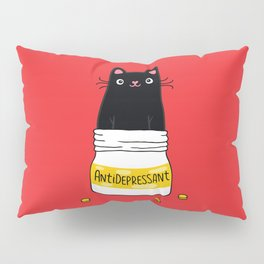 FUR ANTIDEPRESSANT Pillow Sham