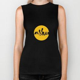 Sunshine | Yellow Circle Biker Tank