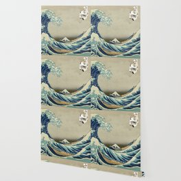 The Great Wave Off Katara Wallpaper