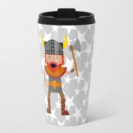A Mighty Viking Travel Mug