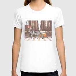 Zebra in New York City T-shirt