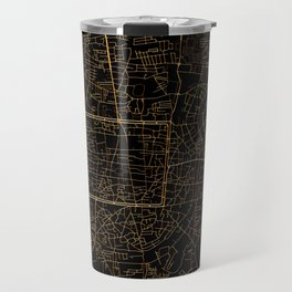 Chiang Mai map, Thailand Travel Mug
