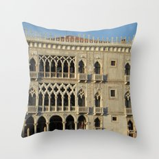 Ca' d'Oro Throw Pillow