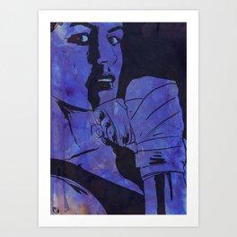 Boxing Club 7 Art Print