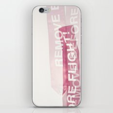 remove before flight! iPhone & iPod Skin