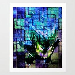 Gengar Blix Art Print