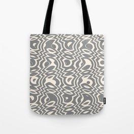 Gray & Ivory Tumble Tote Bag