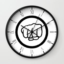 Fist Wall Clock
