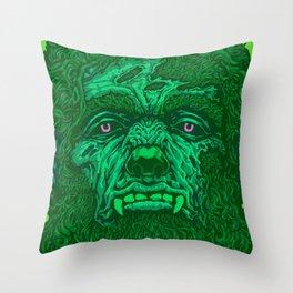 Bloody Werewolf Throw Pillow