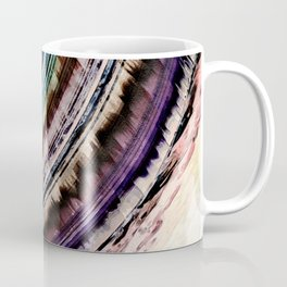 Abstract Textural Rings Coffee Mug