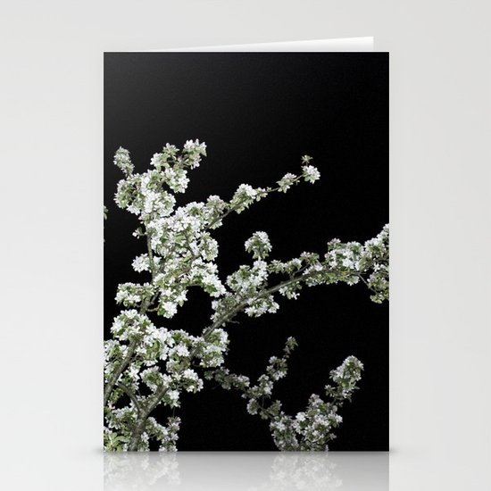 Night Blossom Stationery Cards