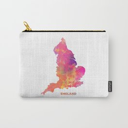 England map #england #map #englandmap Carry-All Pouch