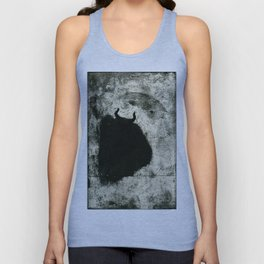 Minotaur in Hiding Unisex Tank Top