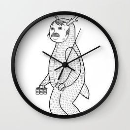 On the inconveniences of dressing up as an animal. Wall Clock