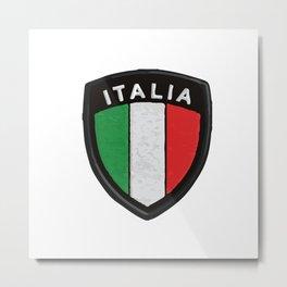italian hemblem Metal Print