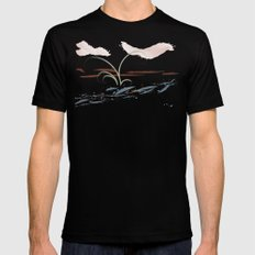 Streamside Mens Fitted Tee MEDIUM Black