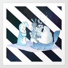 Midsummer Night Picnic Art Print