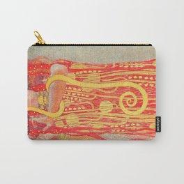 Gustav Klimt - Greek Goddess of Medicine Hygeia Carry-All Pouch
