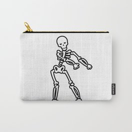 Dancing Happy Skull Carry-All Pouch