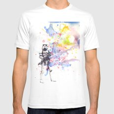 Storm Trooper from Star Wars White MEDIUM Mens Fitted Tee