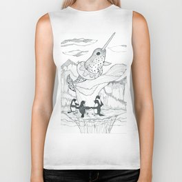 Narwhal and Friends Biker Tank