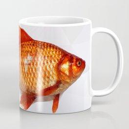 Geometric Goldfish Coffee Mug