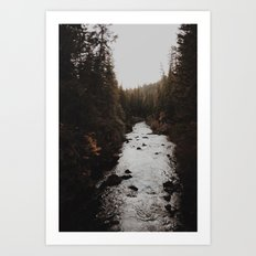 Union Creek Oregon Art Print