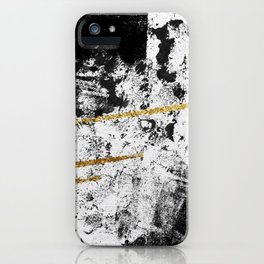 Gilded Grit Light iPhone Case