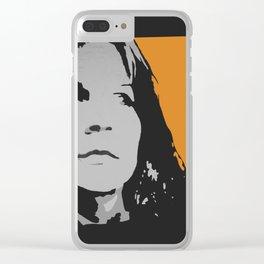 F O X Clear iPhone Case