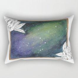 Peony Galaxy Rectangular Pillow