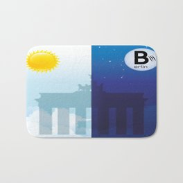Berlin - on day and night - 01 Brandenburger Tor Bath Mat