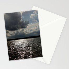 Dark Clouds in the Sky Stationery Cards