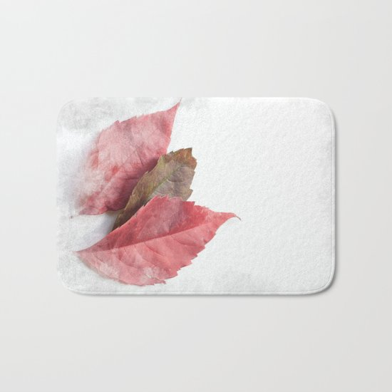AUTUMN LEAVES #1 #decor #art #society6 Bath Mat