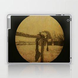 Saddle On The Hitching Post Laptop & iPad Skin