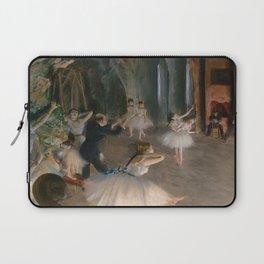 "Edgar Degas ""The Rehearsal Onstage"" Laptop Sleeve"