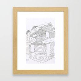 3220 Karnes KCMO V Framed Art Print