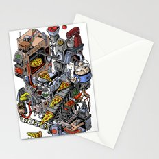 Pizza Machine Stationery Cards