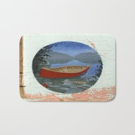 red canoe Bath Mat