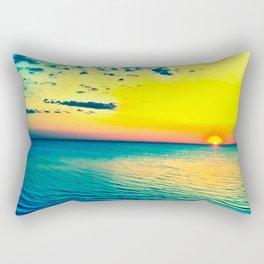 The Day Awaits Rectangular Pillow