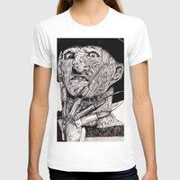 freddy krueger T-shirts featuring Freddy Krueger by Emz Illustration
