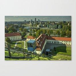Vilnius Skyline  Canvas Print