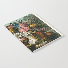 Landscape, Fruit and Flowers Notebook